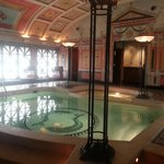 The private pool in the royal Suite