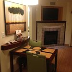 dining/fireplace