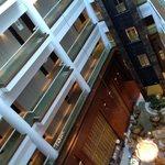 Lobby vu du haut