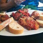 Italian hot food combo