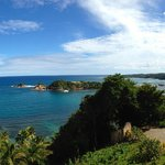 View from Rainforest Suite & Seaview