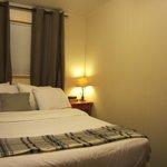 Gibson Cabin queen bedroom