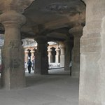 The caves at Elephanta Island