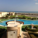 Pool vom Balkon