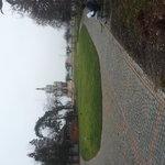 park near the hotel