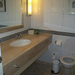 Clean Bathroom in triple room