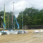 Beach - sports area