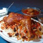 Kabuli Pilau (Kabul Chicken)
