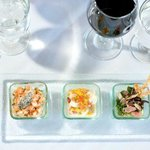 Tasting of Ceviche with Tostones