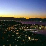 The View from Lyle Hill, Greenock at Dusk