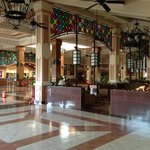 Lobby in the morning