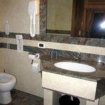 bathroom, room #104