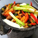 Molcajete -- our ulitmate mixed grill