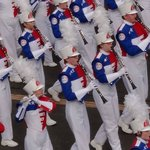 Nate our son marching in the Band Of America's band