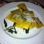 ravioli at dinner