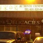 outside Tao's Delicacies