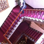 Main stair hall - yes there is an elevator, but we preferred taking the stair.