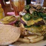 beware! the Texas Burger. (amazing)