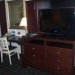 Bedroom area TV
