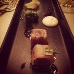 Underbar tonfisk till förrätt