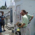 Marie Laveau's burial place/shrine