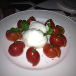 Fantastic Caprese salad at Gli Ulivi - simple perfection