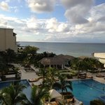View from an oceanview room