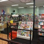 Fantastic selection of newspapers and magazines