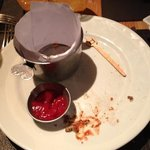 I know the plate is empty as I could not take the picture earlier