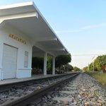 la estacion del tren que pronto sera el museo de Leo Matiz
