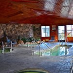 Four Indoor Heated Spa's.