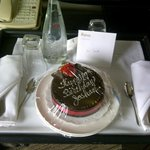 Birthday Cake compliments of Hotel Angeleno (Edith)