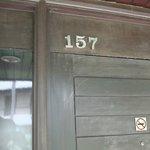泊まった部屋の外側の玄関