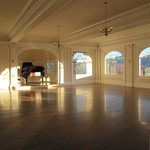 Music Room at the Stanley Hotel. Wouldn't this be a gorgeous place for a wedding reception?