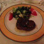 Uh-mazing filet topped with shaved black truffle!