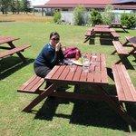 Outdoor garden seating