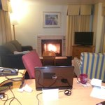 Blazing Fireplace - Nice & Warm (Room 114)