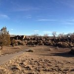Panorama of Aztec Ruins NM