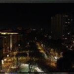 vue de la ville depuis Le 8eme