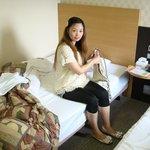 部屋の写真。