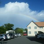 carpark rainbow