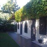 esterno camere lato giardino