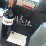Complimentary Wine and Welcome Kit