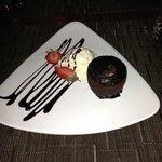 chocolate sponge pudding - very nice