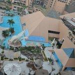 vista sulle piscine-Spa
