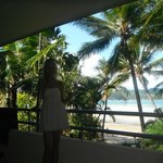 Balcony / View from our room