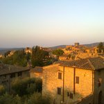 Sunrise over San Gimignano