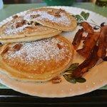 Het over heerlijke ontbijt