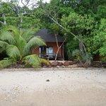 Exterieur du bungalow