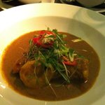 Monkfish and Prawn Goan Curry